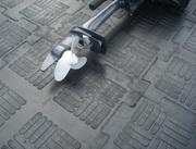 Покрытие для грузового гаража,  склада,  (без кошки) Резиновый Паркет